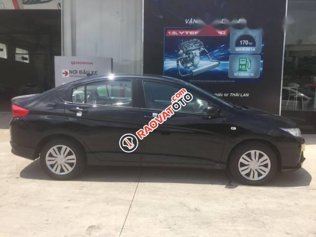 Cần bán Honda City MT mới đời 2017, màu đen-2