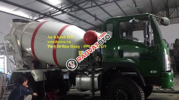 Bán xe ô tô trộn bê tông 4 khối, 2 cầu Dongfeng Trường Giang-3