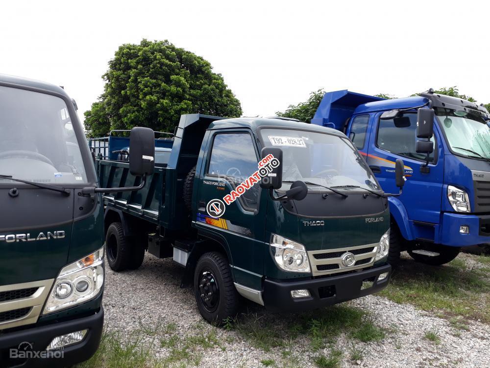 Bán xe Ben 5 tấn Thaco Trường Hải mới nâng tải 2017, xe ben 5 tấn Cửu Long, xe ben 5 tấn Hoa Mai-4