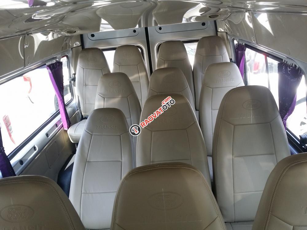 Bán xe Ford Transit Model 2018, KM BHTV, rèm cửa, ngân hàng 90%-5