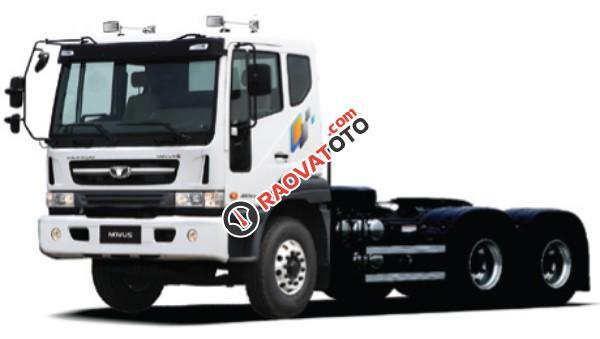 Đầu kéo Daewoo Novus nhập khẩu, giao xe ngay, giá tốt nhất thị trường-2
