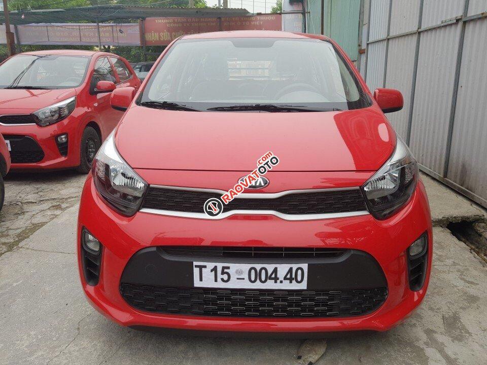 Cần bán Kia Morning Van đời 2017, màu đỏ cờ, nhập khẩu Hàn Quốc-0