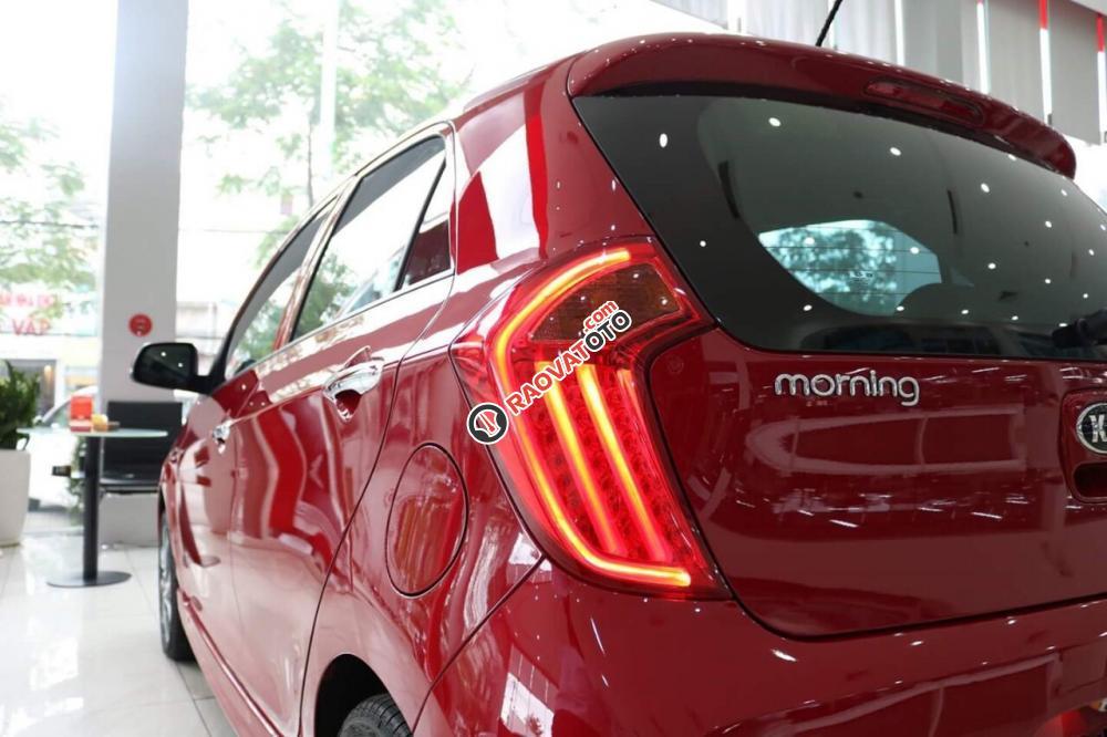 Bán Kia Morning S model 2018, màu đỏ, giá chỉ 394 triệu - 0979 684 924-15