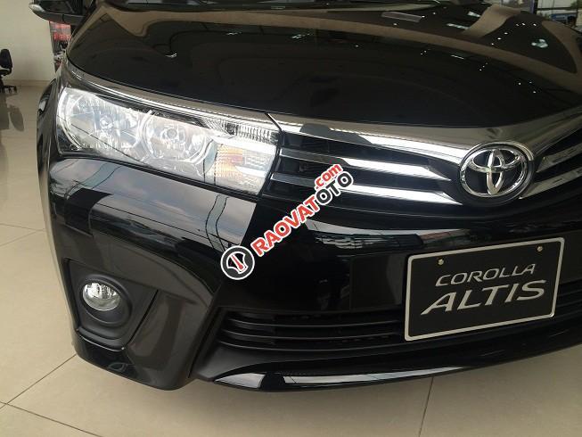 Toyota Hải Dương bán Corola Altis mầu đen 2018, giảm giá lớn nhất, giao xe ngay-1
