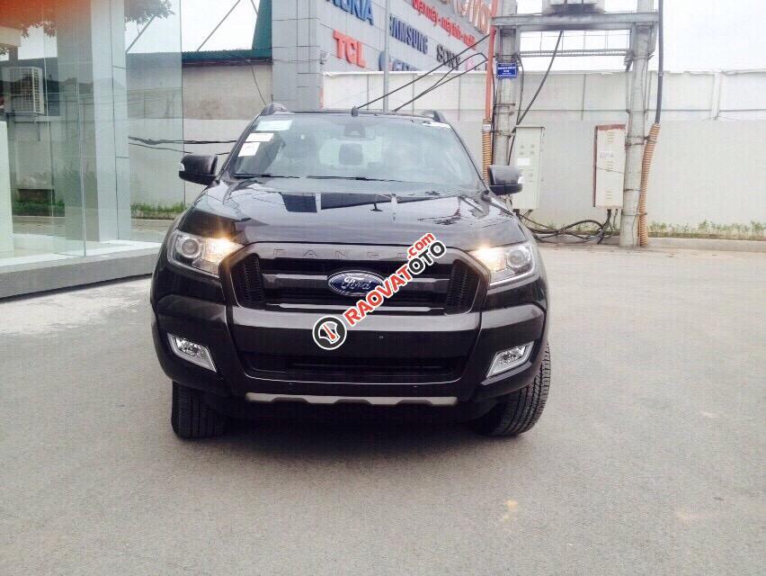 Bán Ford Ranger 3.2 lãi suất tốt, hỗ trợ trả góp 80% giá xe, giao xe sớm tặng 40tr tiền phụ kiện-0