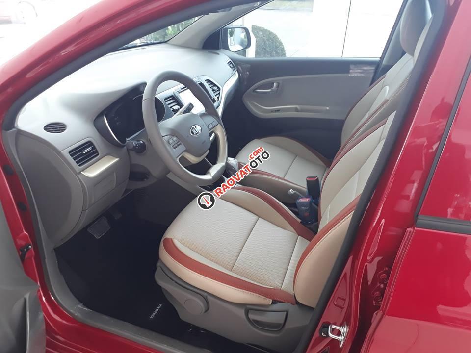 Bán Kia Morning S model 2018, màu đỏ, giá chỉ 394 triệu - 0979 684 924-8