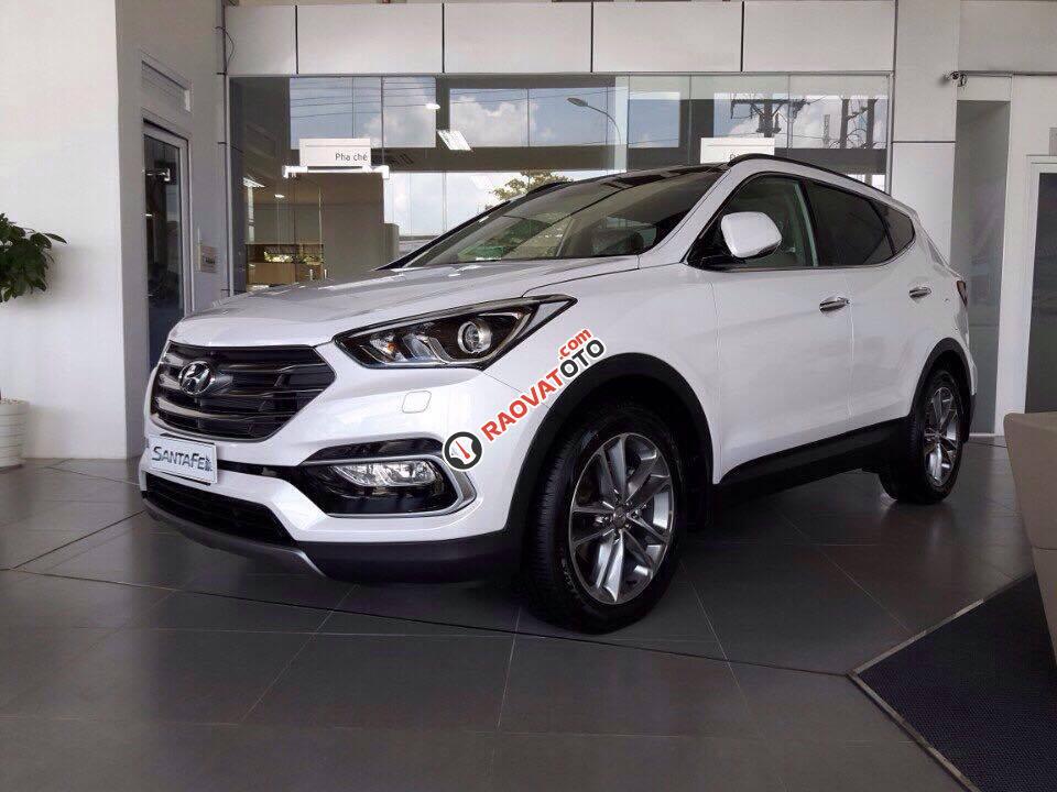 Bán ô tô Hyundai Santa Fe sản xuất 2017, giá siêu khuyến mãi-0