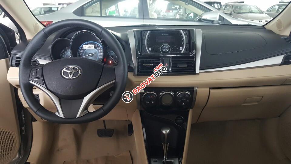 Bán xe Toyota Vios 1.5G 2018 số tự động vô cấp CVT, giá cực tốt, kèm ưu đãi lớn nhất trong năm tại Toyota Bến Thành-1