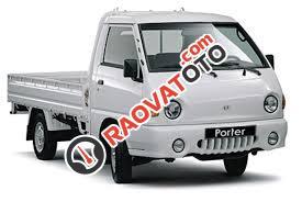 Hyundai Porter II 1 tấn xe nhập khẩu, không đẹp không lấy tiền, màu trắng và xanh-0