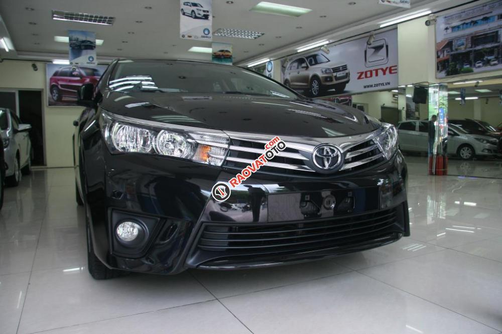Toyota Hải Dương bán Corola Altis mầu đen 2018, giảm giá lớn nhất, giao xe ngay-0