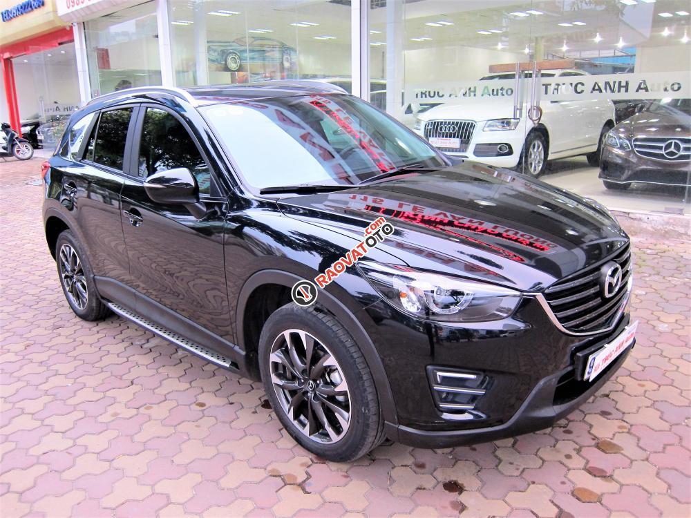 Bán Mazda CX 5 đời 2017, màu đen-0