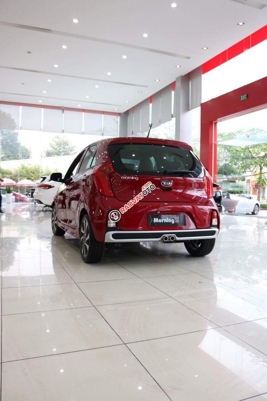 Bán Kia Morning S model 2018, màu đỏ, giá chỉ 394 triệu - 0979 684 924-13
