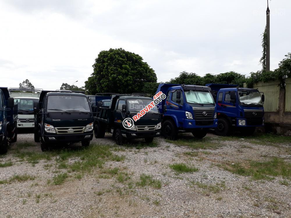 Chuyên bán xe Ben 3.5 tấn Trường Hải, mới nâng tải 2017, giá rẻ ở Hà Nội-0