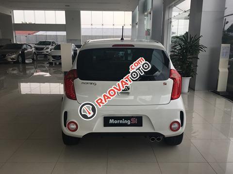 Bán Kia Morning Si sản xuất năm 2018, màu trắng-5