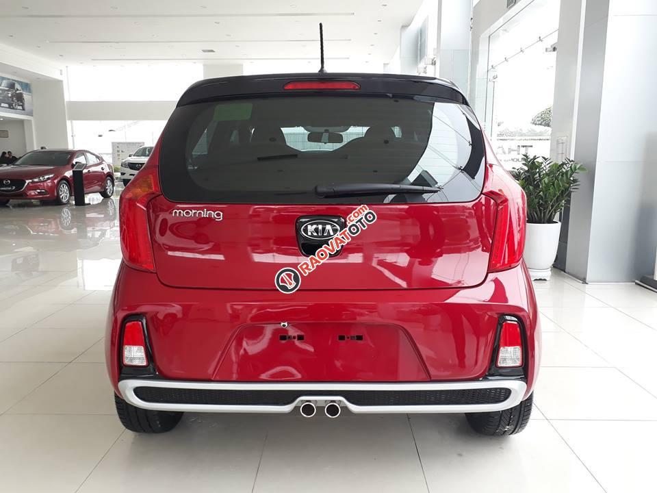 Bán Kia Morning S model 2018, màu đỏ, giá chỉ 394 triệu - 0979 684 924-10