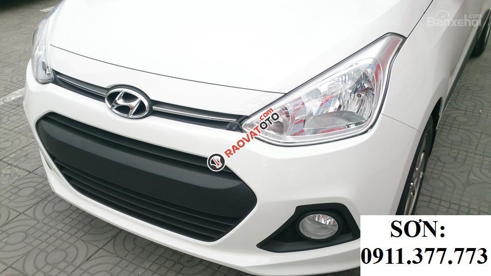 Cần bán xe Hyundai Grand i10 đời 2018, màu trắng, trả góp 90% xe-22