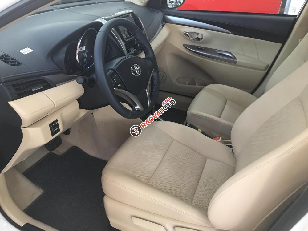 Cần bán Toyota Vios 1.5G CVT giá cạnh tranh, hỗ trợ 90% giá trị xe-4