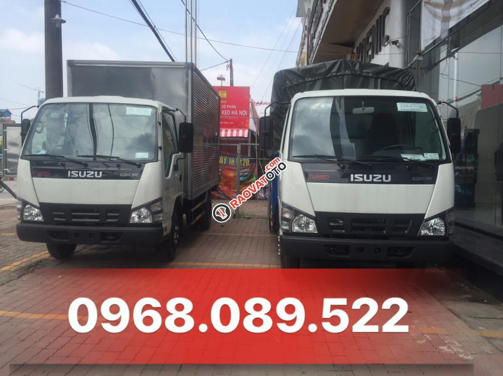 Bán xe tải Isuzu QKR55H 1.9 tấn giá tốt. Có xe giao ngay, hỗ trợ trả góp, LH 0968.089.522-0