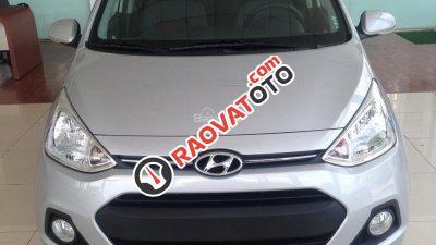 Bán Hyundai Grand i10 1.2MT bạc - Giao xe ngay - Liên hệ: 0906721088-4
