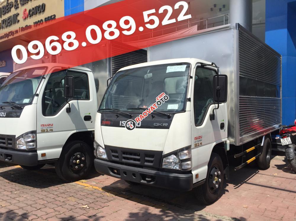 Bán xe tải Isuzu QKR55H 1.9 tấn giá tốt. Có xe giao ngay, hỗ trợ trả góp, LH 0968.089.522-2