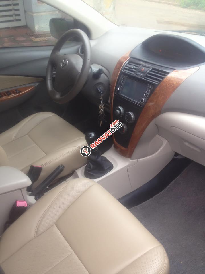 Xe Toyota Vios E đời 2011, màu đen số sàn, giá 318 tr, 0969336443-14