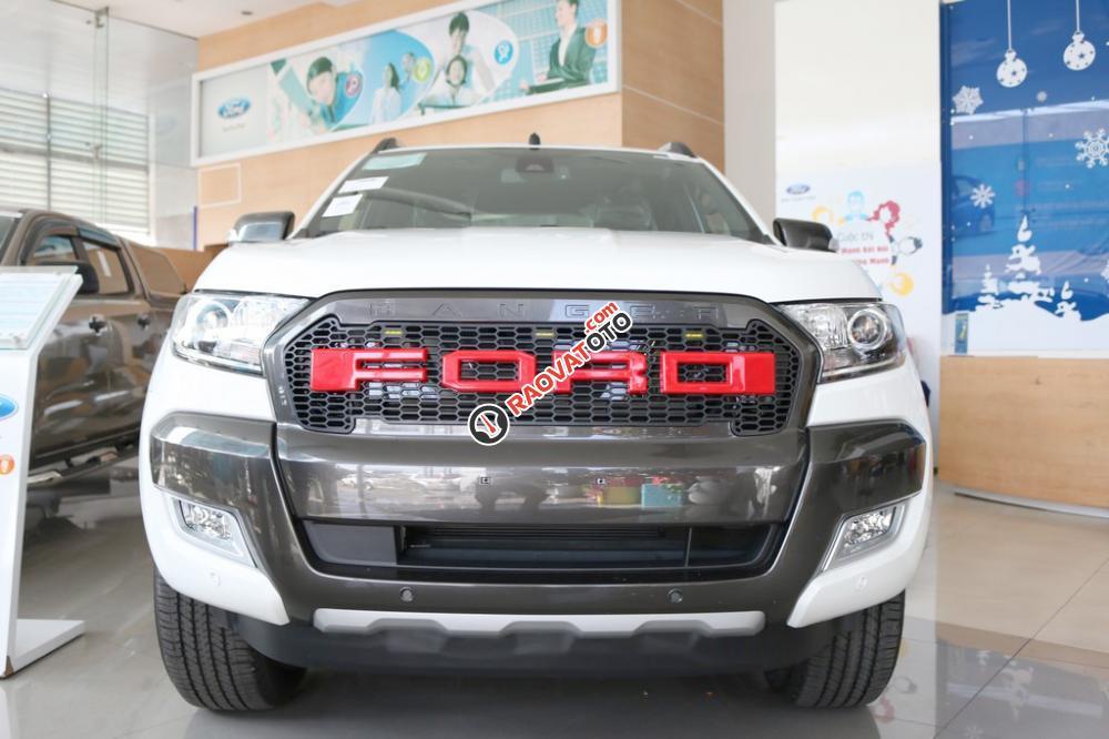 Xe bán tải Ford Ranger Wildtrak 3.2 2 cầu, AT 2017, giá 925 triệu (chưa khuyến mại), xe nhập, Hồ Chí Minh-1