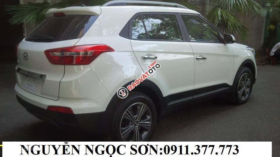 Bán Hyundai Creta mới đời 2018, màu trắng, nhập khẩu, giá chỉ 760 triệu, liên hệ: Ngọc Sơn: 0911.377.773-12