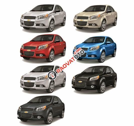 Cần bán Chevrolet Aveo đời 2018, màu đỏ, nhanh tay liên hệ-2