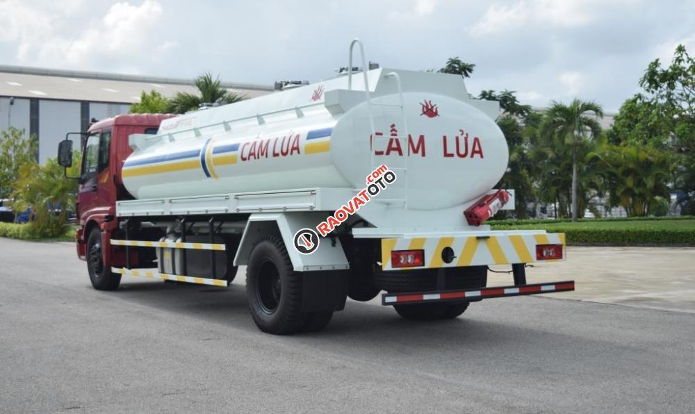 Xe bồn chở xăng dầu 11m3 Auman C160-1