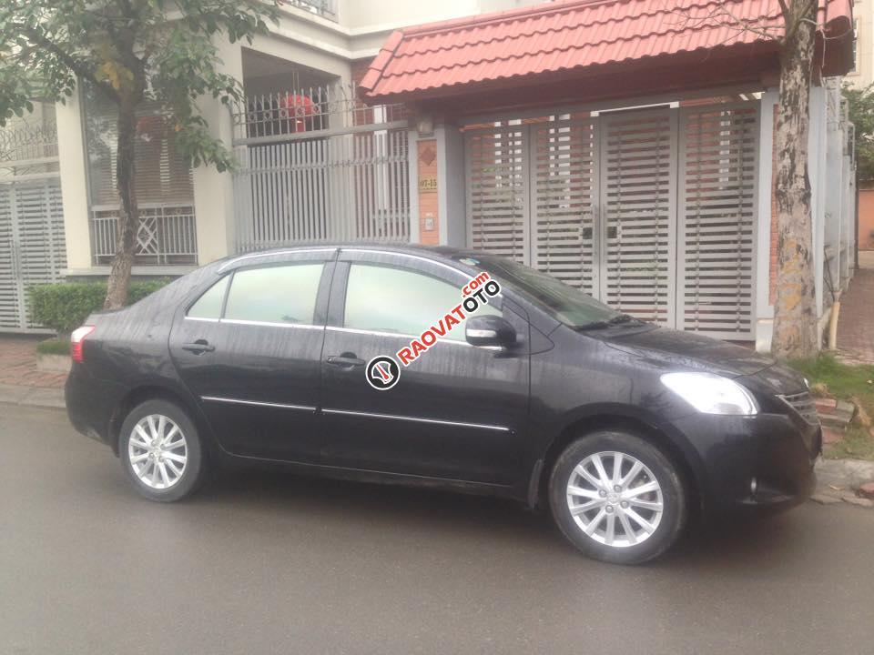 Xe Toyota Vios E đời 2011, màu đen số sàn, giá 318 tr, 0969336443-11