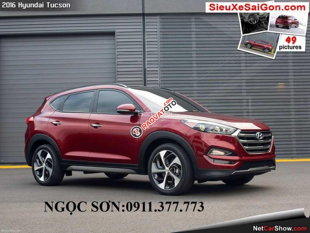 """""""Siêu Hot"""" bán Hyundai Tucson đời 2018, màu đỏ, giá chỉ 760 triệu, hỗ trợ vay 90% giá trị xe. Ngọc Sơn: 0911.377.773-1"""