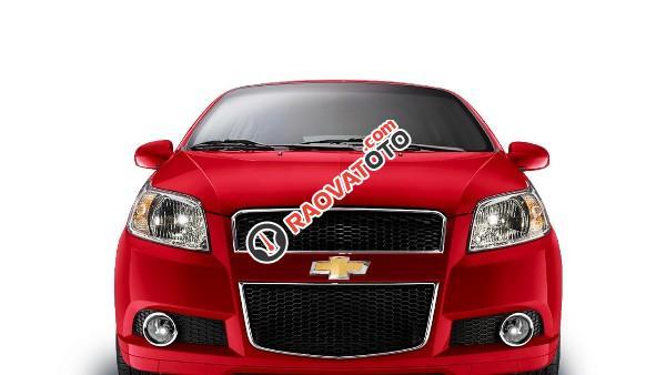 Cần bán Chevrolet Aveo đời 2018, màu đỏ, nhanh tay liên hệ-3