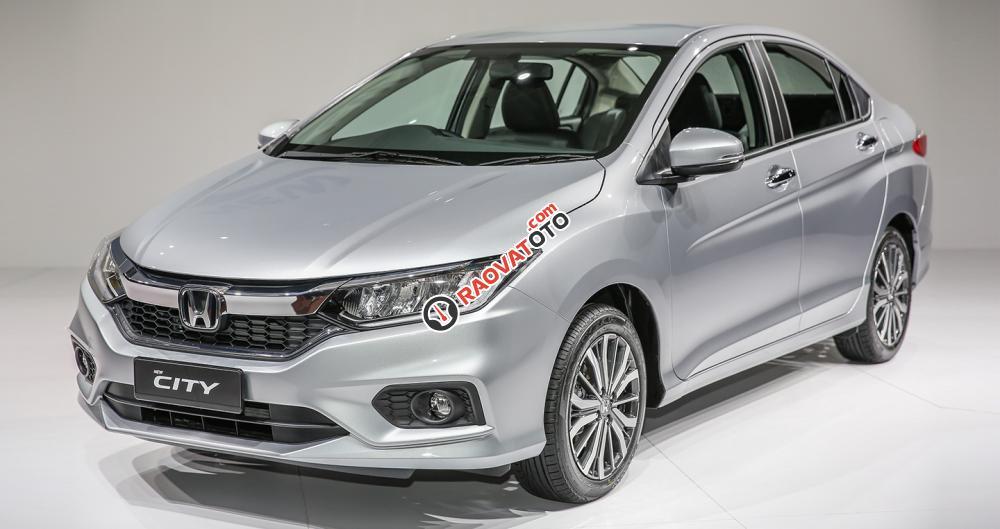 Honda City Top đời 2017, màu bạc, giá tốt nhất tại Honda ô tô Bắc Ninh-0