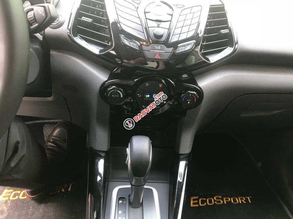Cần bán xe Ford EcoSport Titanium năm 2015, màu đỏ cam-1