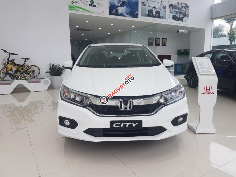Honda City 1.5 CVT đời 2017 trắng, Honda Ô tô Bắc Ninh, hỗ trợ trả góp 80% - 0966108885 Mr Thịnh-0