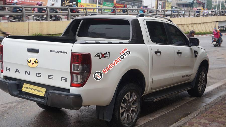 Bán Ford Ranger Wildtrak 3.2 AT đời 2016, màu trắng, nhập khẩu nguyên chiếc, giá chỉ 795 triệu-1