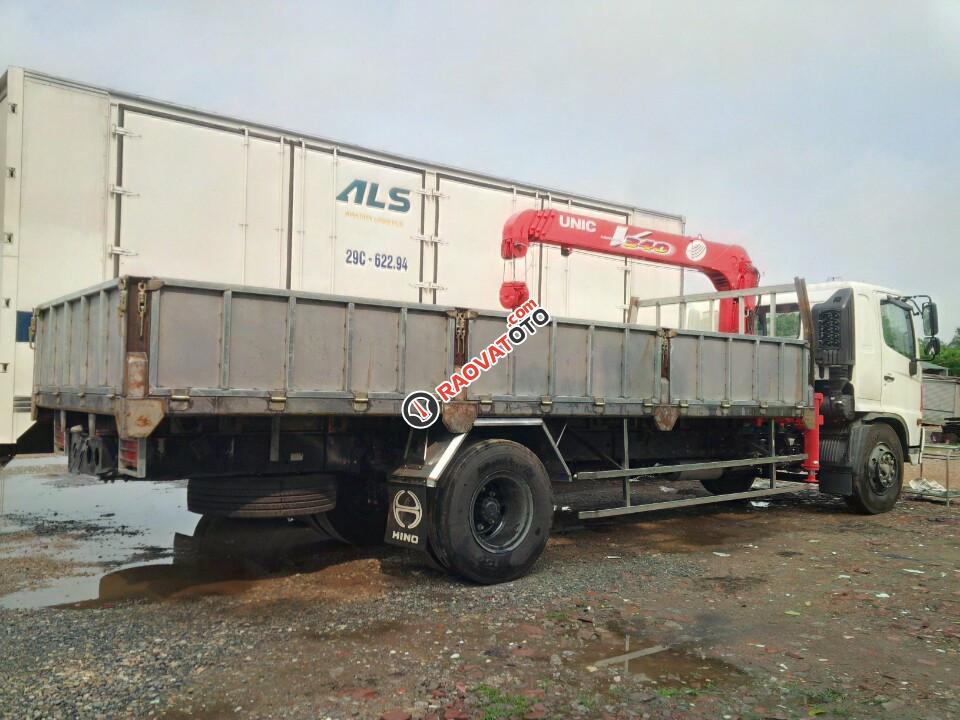 Bán xe tải Hino FC lắp cẩu UNIC 3 tấn, xe tải cẩu Hino 3 tấn, cẩu tự hành Unic 3 tấn-1
