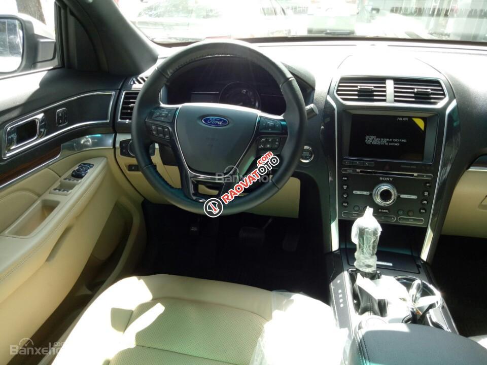 Bán xe Ford Explorer Limited 2017, màu trắng, xe nhập, đủ màu, giao xe ngay. LH: 0978877754 giá tốt-7