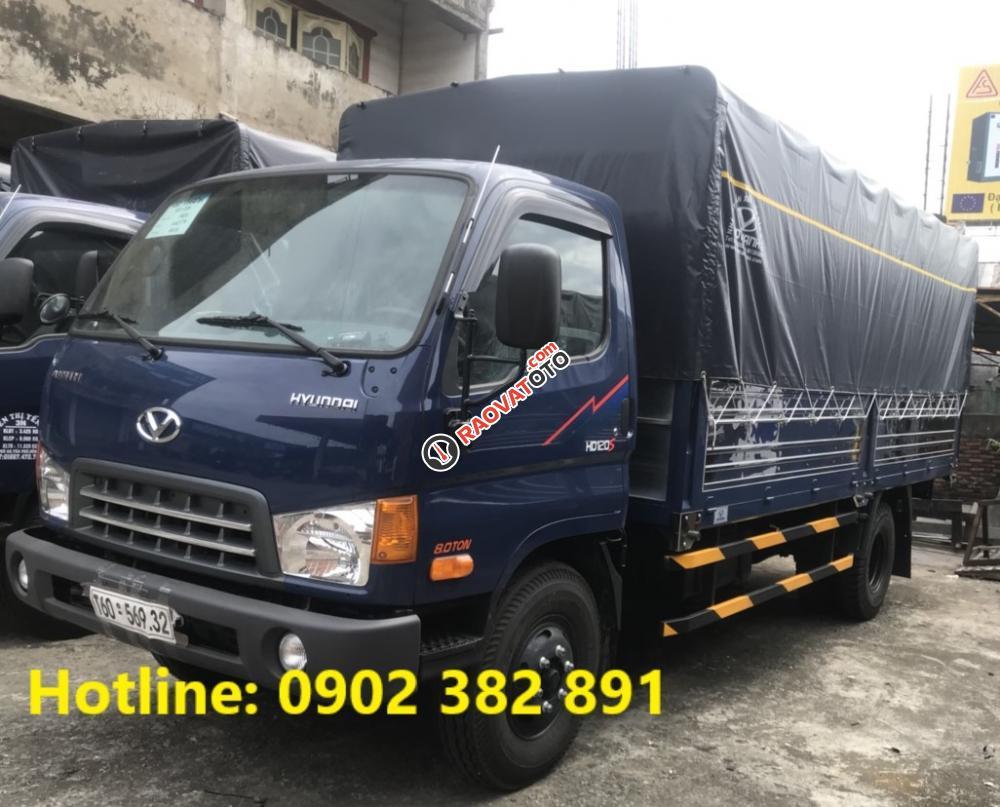 Bán xe tải Hyundai 8 tấn HD120S mới nhất model 2018, hỗ trợ trả góp 90%, giao xe ngay-0