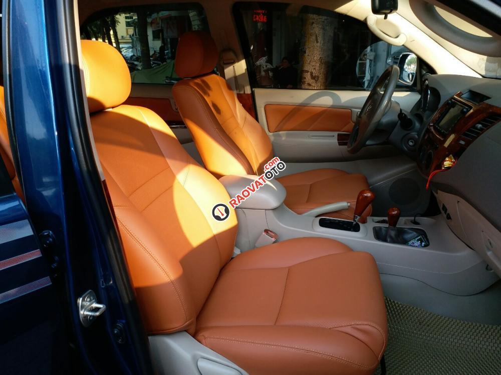 Toyota Fortuner SR5 4x4AT màu xanh, 2 cầu máy xăng, sản xuất 2008, nhập khẩu Thái Lan-14