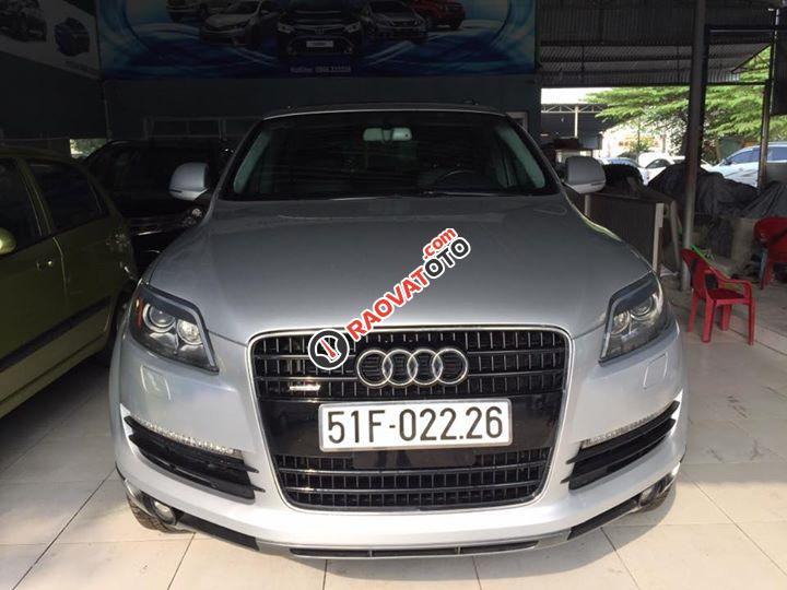Bán Audi Q7 4.2 đời 2007, màu bạc, nhập khẩu, 790tr-0