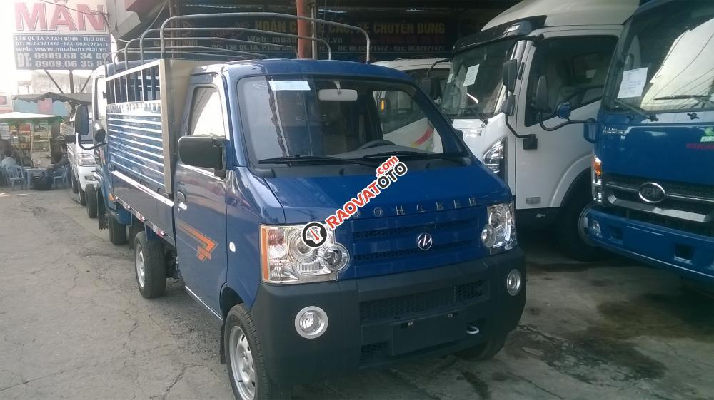 Bán xe tải DongBen 870 kg, thùng lửng, thùng bạt, thùng kín giao ngay-0