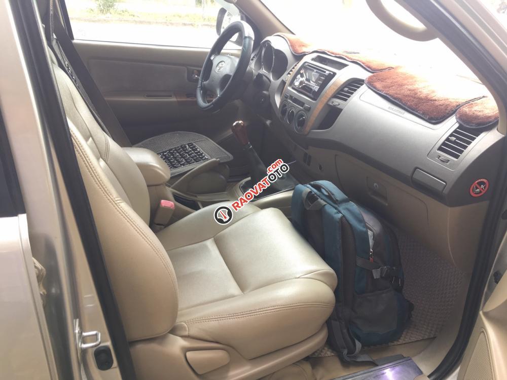 Bán Toyota Fortuner 2.5, máy dầu, số sàn, 2009, xe gia đình đi rất kỹ-6