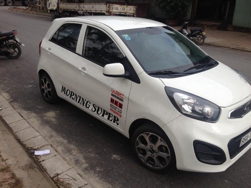 Bán xe Kia Morning đời 2013, màu trắng, xe nhập, số sàn, giá chỉ 250 triệu-7