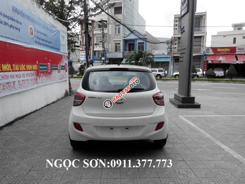 Cần bán xe Hyundai Grand i10 mới, màu trắng - LH Ngọc Sơn: 0911.377.773-14