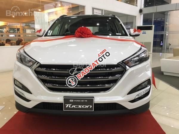 (Hyundai Trường Chinh) cần bán Hyundai Tucson 2017, màu trắng, nhiều màu giao ngay, Lh: 097.88.77.754 giá tốt-0