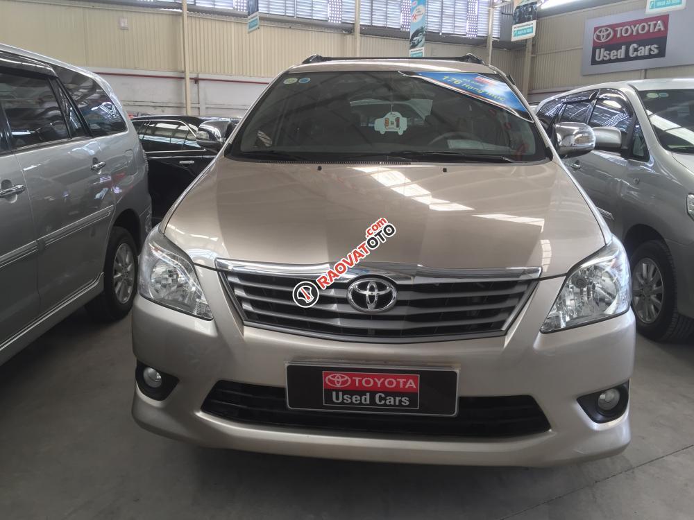 Cần bán Toyota Innova G đời 2012, số tự động. Hỗ trợ vay 70%-0