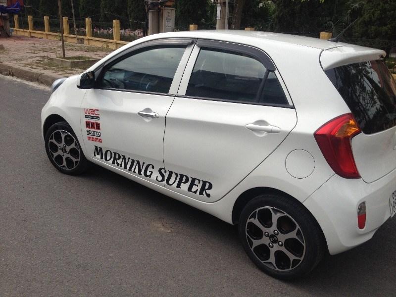 Bán xe Kia Morning đời 2013, màu trắng, xe nhập, số sàn, giá chỉ 250 triệu-2