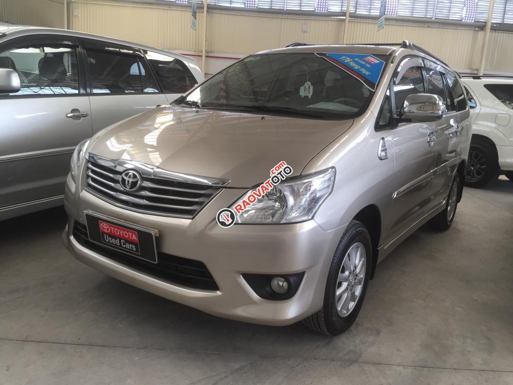 Cần bán Toyota Innova G đời 2012, số tự động. Hỗ trợ vay 70%-1
