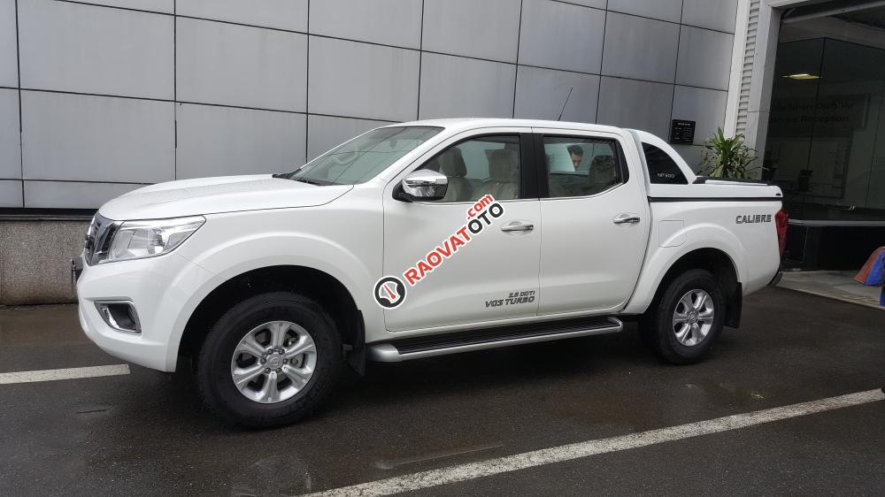 Bán xe Nissan Navara EL đời 2017, màu trắng, nhập khẩu nguyên chiếc-1